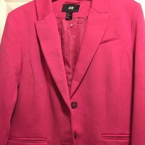 Bright Pink H&M Blazer